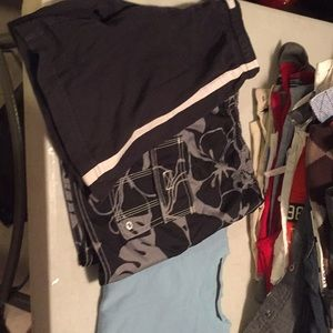 Other - 3pcs Tee,  swim trunks and shorts
